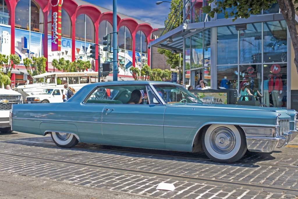1963 Cadillac Series Sixty One - Blue
